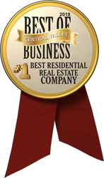 The Business Journal Award Winner - #1 Best Residential Real Estate Company